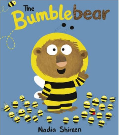 BookTrust gifts every reception aged child in England with the picture book The Bumblebear