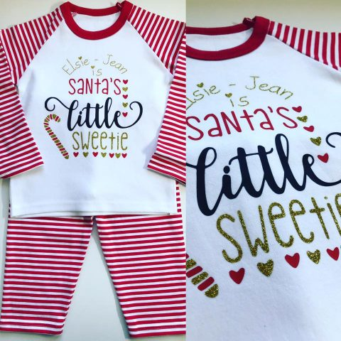 Personalised Christmas Pyjamas Now Available