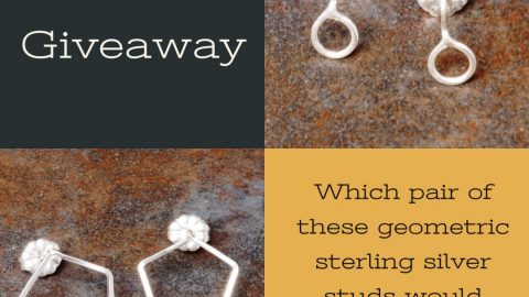 October Metal smithing Giveaway (Ends 31st October 2019)