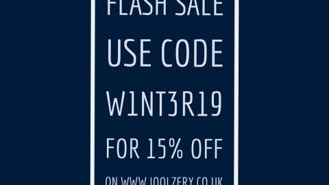 Winter Solstice Flash Sale